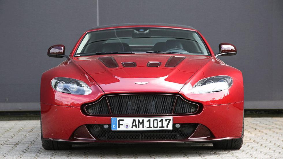 Prueba: Aston Martin V12 Vantage S Roadster detalle morro