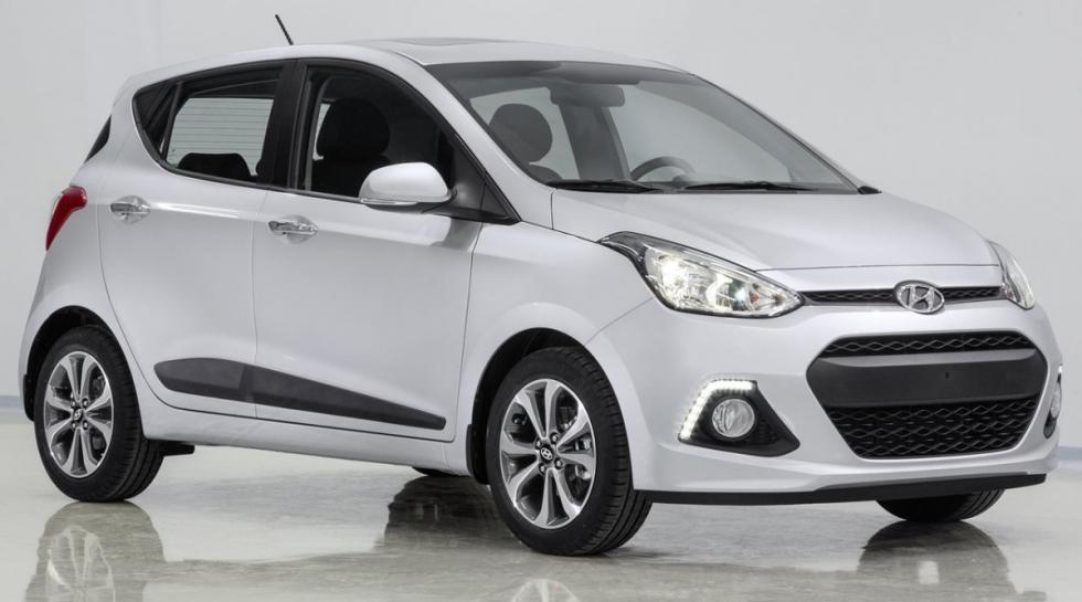 Hyundai i10 delantera