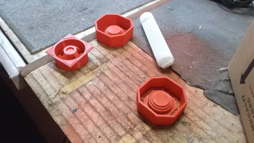 piezas impresas en 3D