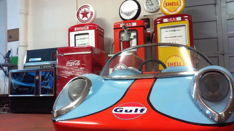 coche de tiovivo restaurado