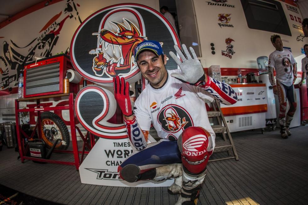 Toni-Bou-Campeón del Mundo-nueve mundiales