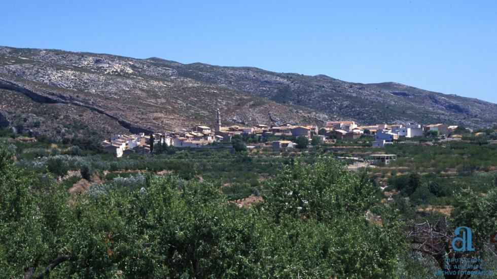 Vall de Gallinera, en Alicante.