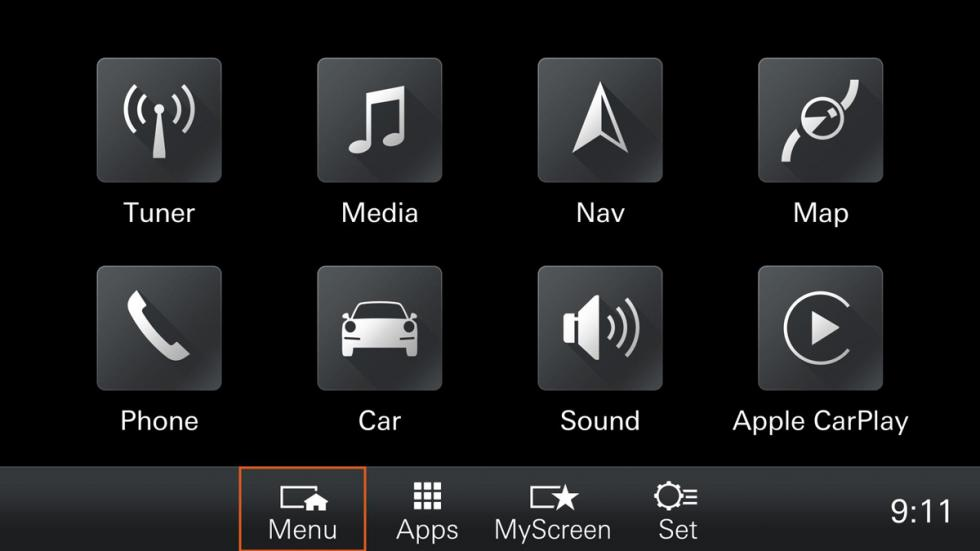 Porsche Communication Management 2