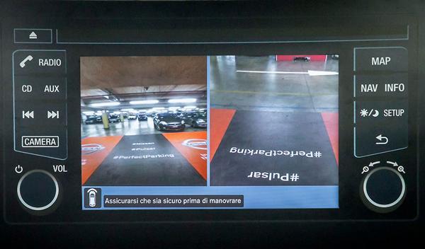 cámara aparcamiento