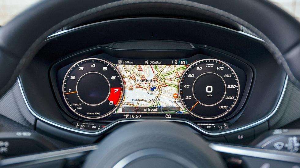 Audi TT interior relojes