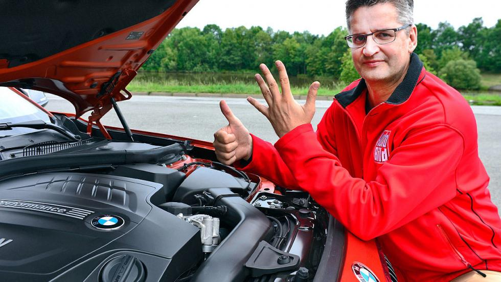 BMW Serie 1 dinámica motor
