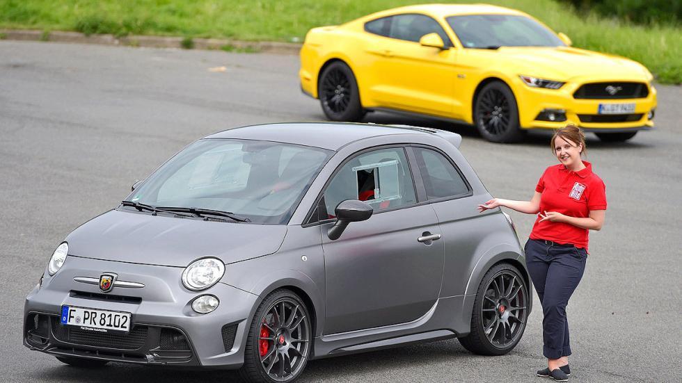 Fiat Abarth morro redactora