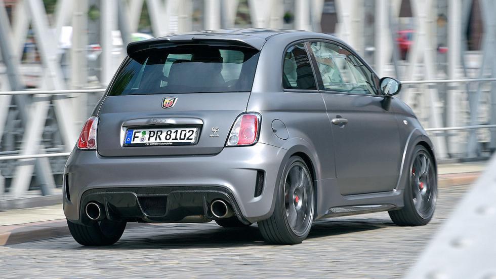 Fiat Abarth morro zaga