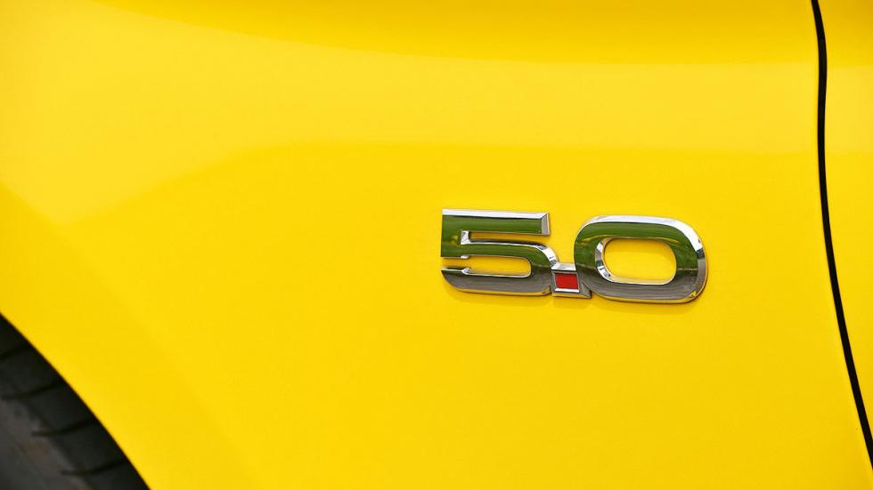 Ford Mustang detalle exterior