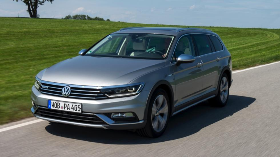 Dinámica Volkswagen Passat Alltrack 2015