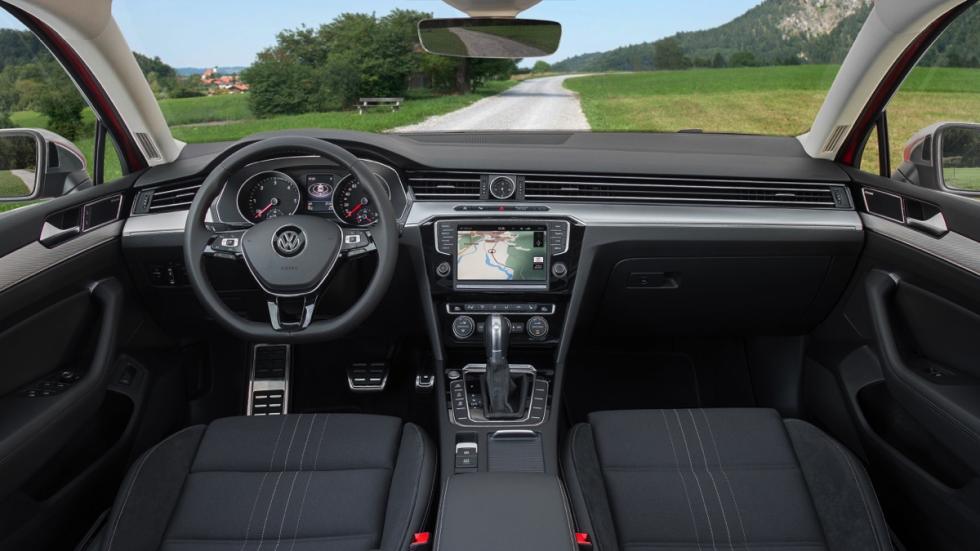Interior Volkswagen Passat Alltrack 2015