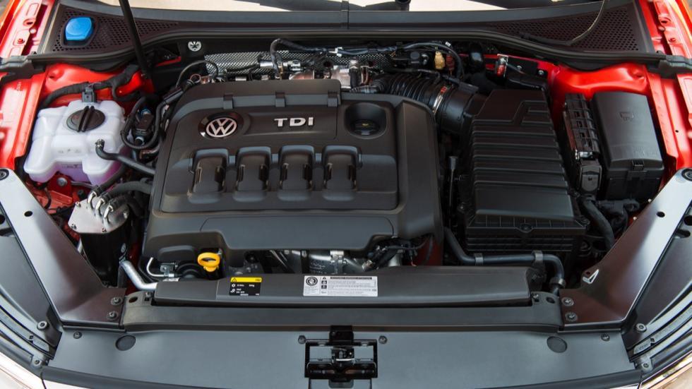 Motor Volkswagen Passat Alltrack 2015
