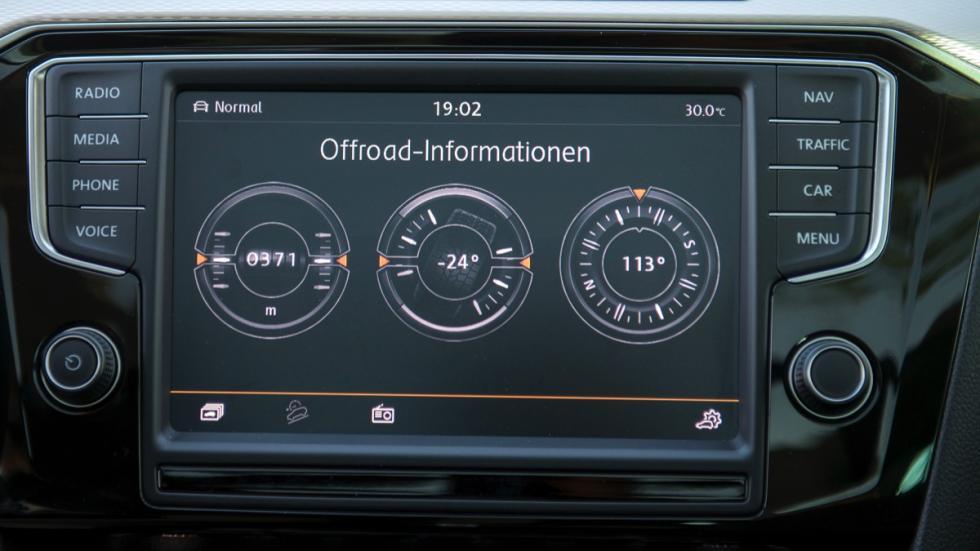 Modo Off-Road Volkswagen Passat Alltrack 2015