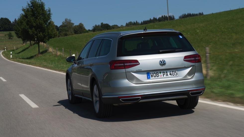 Trasera Volkswagen Passat Alltrack 2015