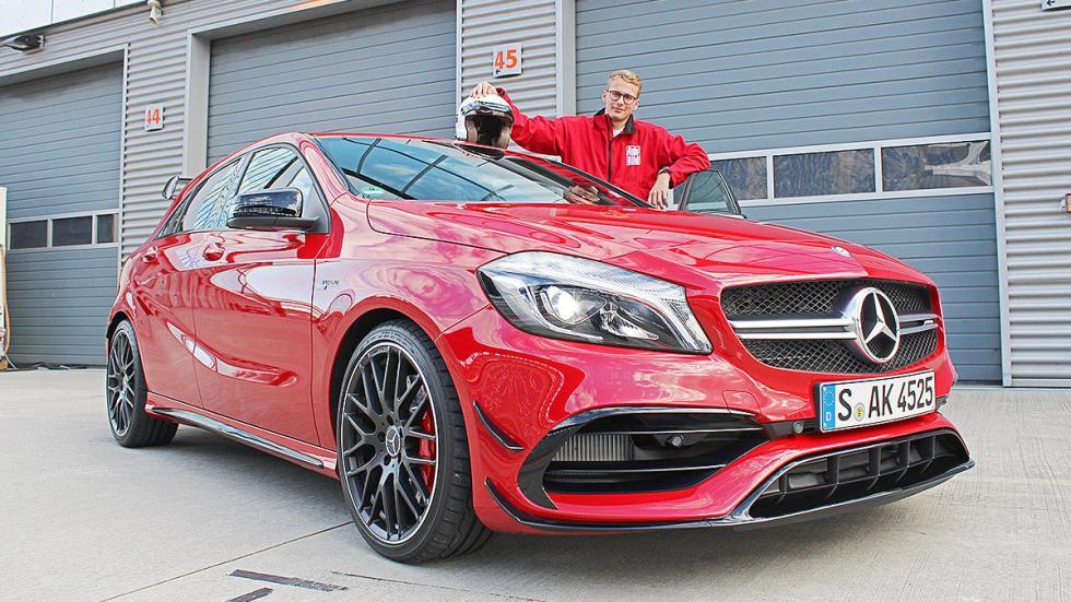 Prueba extrema: Mercedes-AMG A 45 4MATIC  redactor