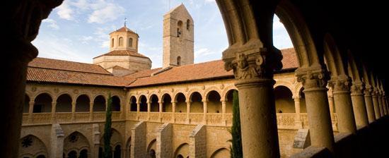 Monasterio de Valbuena, en la Ruta del vino Ribera del Duero