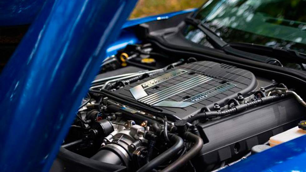 Corvette Geiger Cars motor