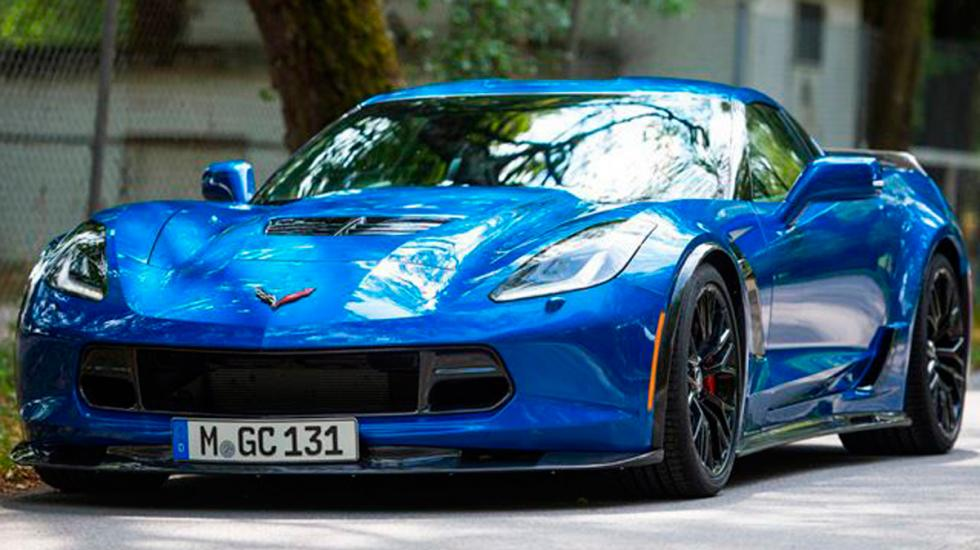 Corvette Geiger Cars frontal