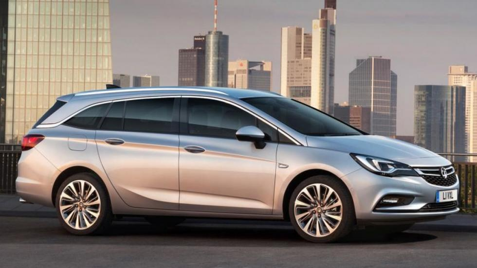 Opel Astra Sports Tourer perfil
