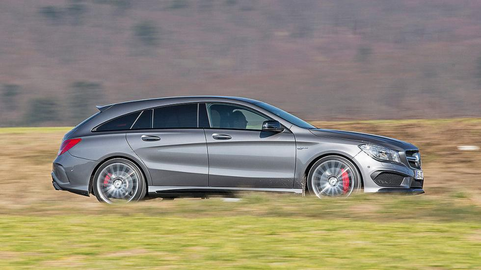 26: Mercedes-AMG CLA 45 Shooting Brake 4Matic 7G-DCT. 360 CV. 10,8 l/100 km