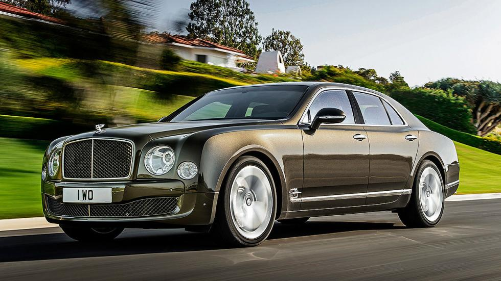 1: Bentley Mulsanne Speed. 537 CV. 16,8 l/100 km.