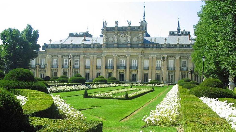Palacio Real y jardines de San Ildefonso