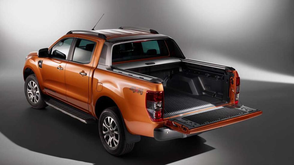 Ford Ranger para Europa tres cuartos traseros