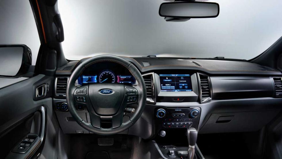 Ford Ranger para Europa interior
