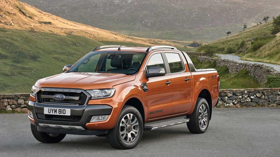 Ford Ranger para Europa tres cuartos delanteros
