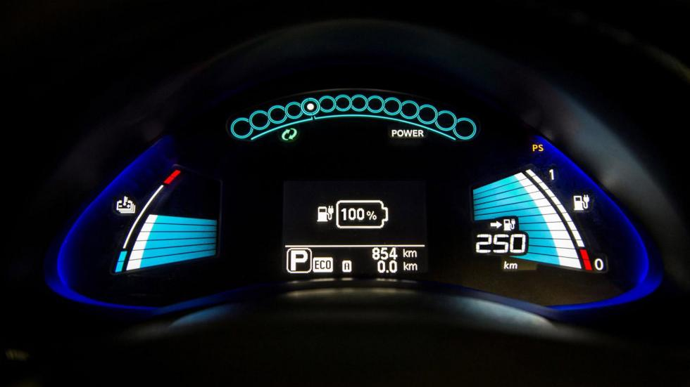 Nissan Leaf 2016 autonomia
