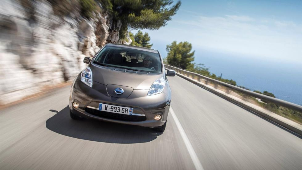 Nissan Leaf 2016 frontal