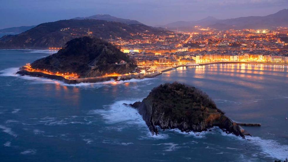 Panorámica de San Sebastián.