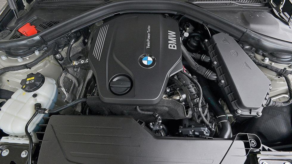 Nuevo BMW Serie 3 interior motor