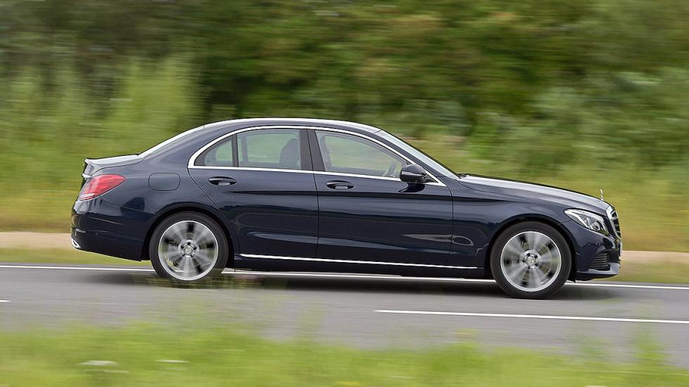 Mercedes Clase C barrido