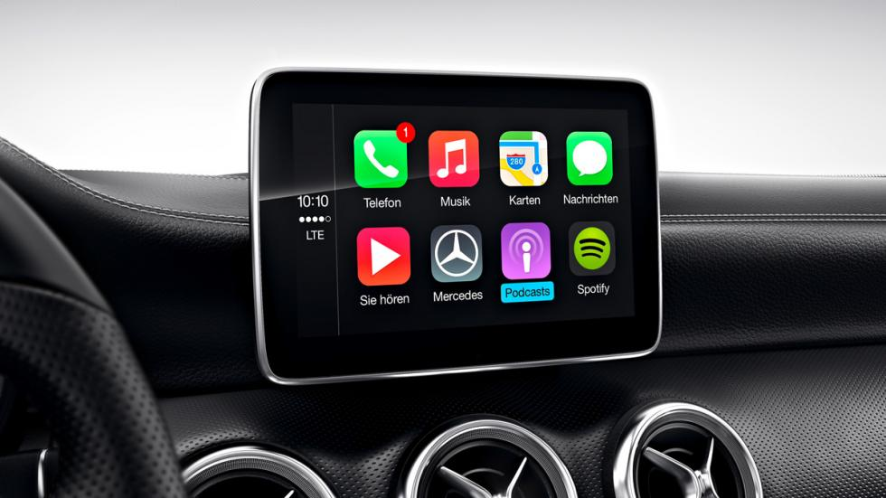 mercedes clase a 220d Apple CarPlay 2015