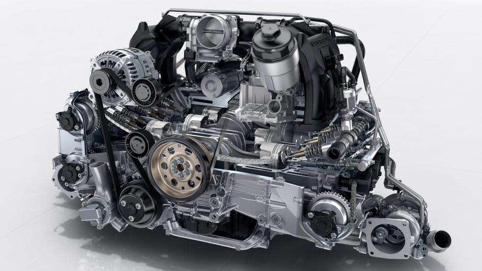motor porsche 911 carrera s