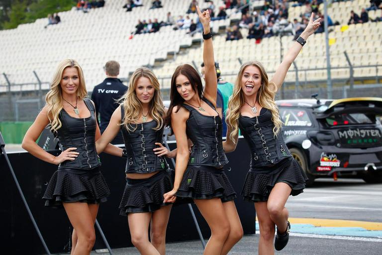 Chicas Monster Rallycross
