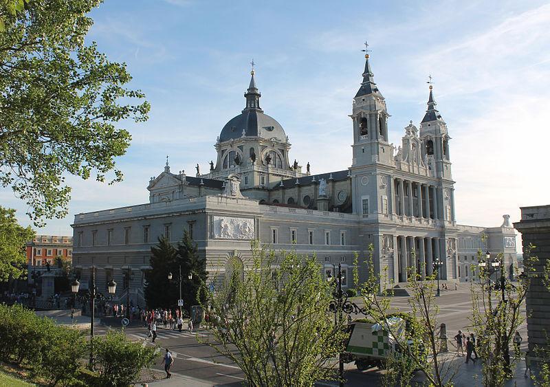Catedral de La Almudena, en Madrid
