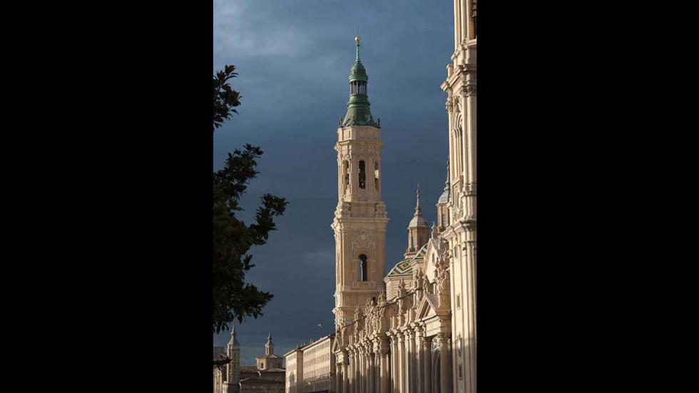 Basílica del Pilar, en Zaragoza.