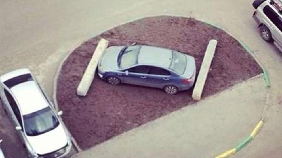 castigo-conductores-aparcan-mal-troncos