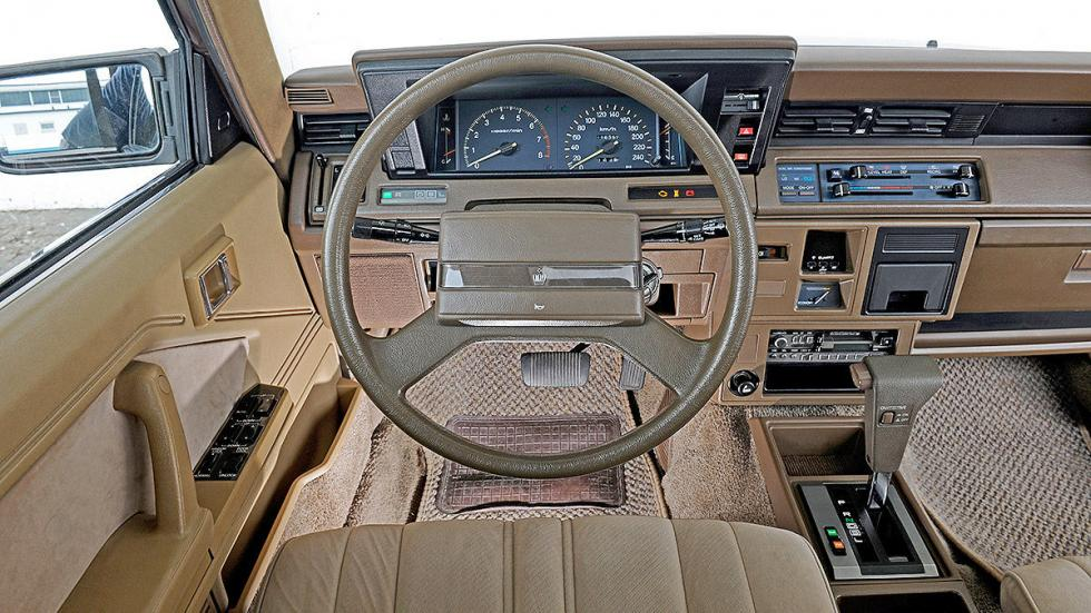 Toyota Crown detalle interior