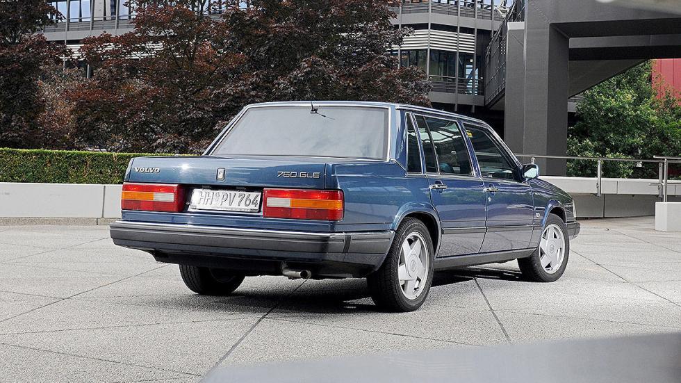 Volvo 760 detalle zaga