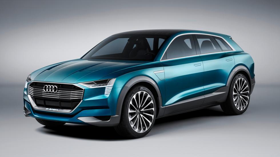 Audi e-tron quattro concept frontal