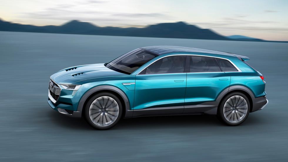 Audi e-tron quattro concept lateral