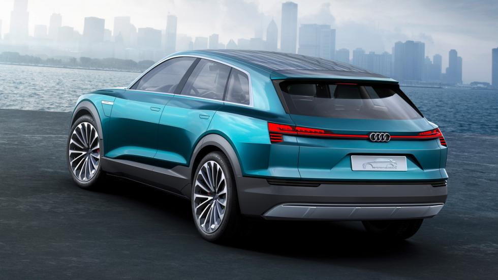 Audi e-tron quattro concept trasera