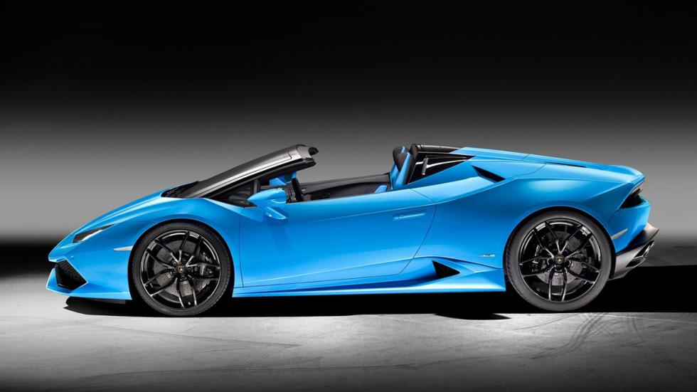Lamborghini Huracán Spyder lateral