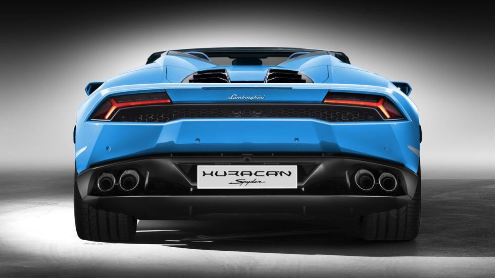 Lamborghini Huracán Spyder trasera