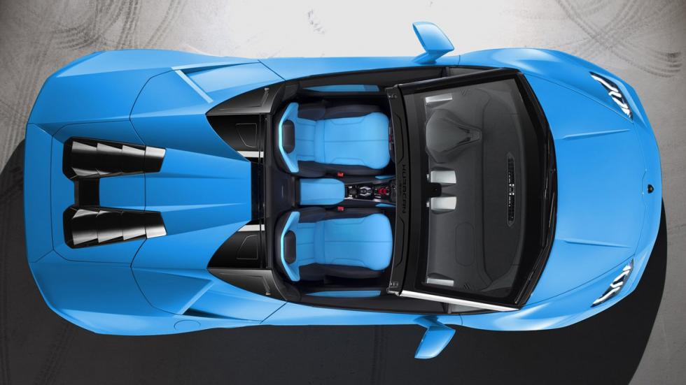 Lamborghini Huracán Spyder cenital