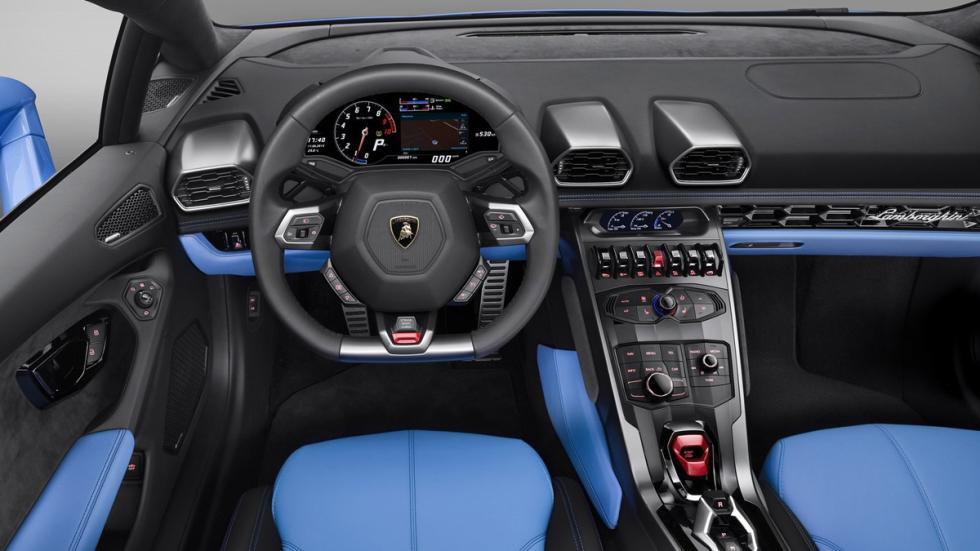 Lamborghini Huracán Spyder interior