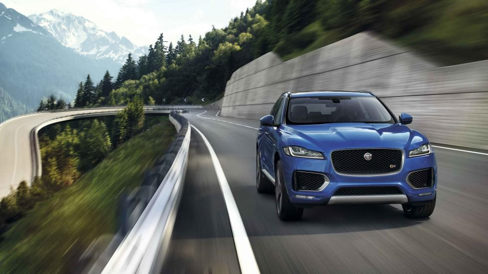 jaguar F-pace 2016 frontal